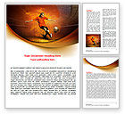 Sports: World Cup Of FIFA Word Template #07668