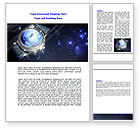 Business: Global Watch Word Template #07676