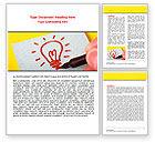 Consulting: Alternative Illuminator Word Template #07683