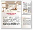 Careers/Industry: Interior Environment Word Template #07699