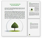 Nature & Environment: Under the Dome Word Template #07700