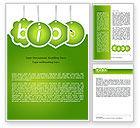 Nature & Environment: Bio Badges Word Template #07716