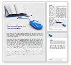 Education & Training: Electronic Book Word Template #07746