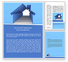 Careers/Industry: House Perspective Word Template #07753