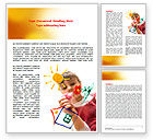 Education & Training: Drawing on Glass Word Template #07765