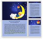 Education & Training: Lullaby Word Template #07776