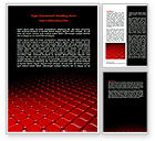 Abstract/Textures: Red Fragmented Surface Word Template #07781