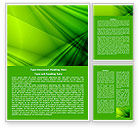 Abstract/Textures: Green Satin Word Template #07783