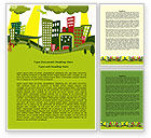 Construction: Green Infrastructure Word Template #07792
