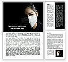 Medical: Modèle Word de masque sanitaire #07814