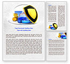 Financial/Accounting: Savings Protection Word Template #07832
