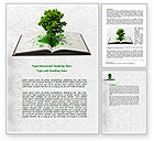 Education & Training: Tree of Knowledge Word Template #07833