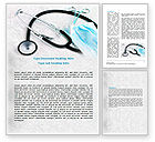 Medical: Forceps Word Template #07842
