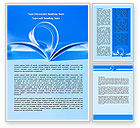 Careers/Industry: Blue Pages Word Template #07868