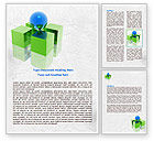 Business Concepts: Equilibrium Word Template #07914