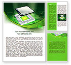 Technology, Science & Computers: Socket For Microprocessor Word Template #07915