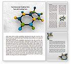 Technology, Science & Computers: Modèle Word de molécule #07990