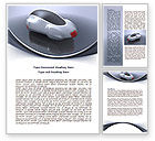Careers/Industry: Concept Car Word Template #07998