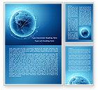 Global: Satellite Orbits Word Template #08033