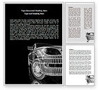 Careers/Industry: Car Modeling Word Template #08047