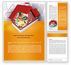 Construction: House Model Creation Word Template #08092