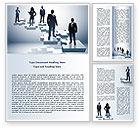 Careers/Industry: Career Stages Word Template #08120