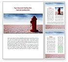 Careers/Industry: Water Pump Word Template #08164