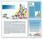 Education & Training: Children's Stationery Word Template #08170