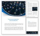 Abstract/Textures: Modelo do Word - comunidade de rede #08199