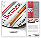Business: Business Newspaper Word Template #08203
