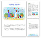 Education & Training: Mothers Word Template #08217