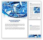 Medical: Modello Word - Blue doppia elica #08234