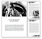 Cars/Transportation: Plantilla de Word - conducir ebrio #08264