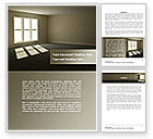 Construction: Empty Room Word Template #08285
