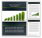 Business Concepts: Growing Chart Word Template #08303
