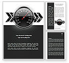 Careers/Industry: Speed Restrictions Word Template #08307
