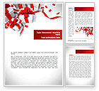Holiday/Special Occasion: Wrapped Presents Word Template #08317