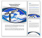 Business Concepts: From 2010 to 2011 Word Template #08339