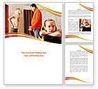 People: Family Quarrel Word Template #08394