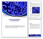 Education & Training: Screen Letters Word Template #08405