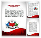 Education & Training: Reading People Word Template #08448