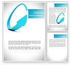 Business: Cycle Arrow Word Template #08480