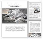 Nature & Environment: Earthquake Word Template #08485