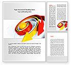 Business Concepts: 워드 템플릿 - 운동 #08495