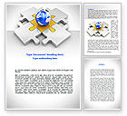 Global: International Solutions Word Template #08507