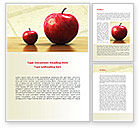 Consulting: Sweet Apples Word Template #08509