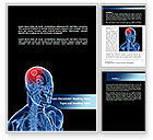 Medical: Brain Inflammation Word Template #08527