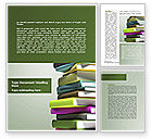 Education & Training: Source Of Knowledge Word Template #08530