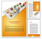Careers/Industry: Healthy Pills Word Template #08536