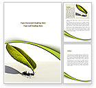 Business Concepts: Spring Ant Word Template #08566